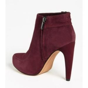 3baecda97fbdc Sam Edelman Shoes - Sam Edelman  Kit  ankle boots in burgundy suede